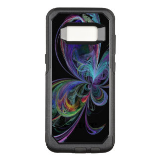 Swirly Rainbow Abstract Butterfly OtterBox Commuter Samsung Galaxy S8 Case