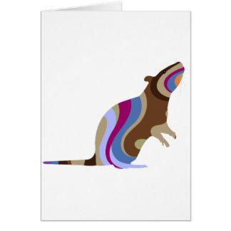 Swirly Rat Card