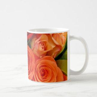 Swirly Roses Bouquet Coffee Mug