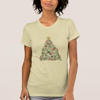 Swirly Tree Decorated T-Shirt