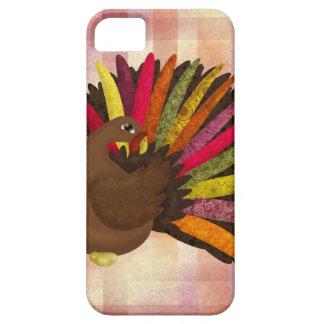 Swirly Turkey iPhone 5 Cover