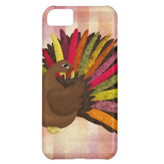 Swirly Turkey iPhone 5C Case