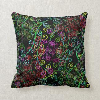 Swirly Whirly Design on Throw Pillow