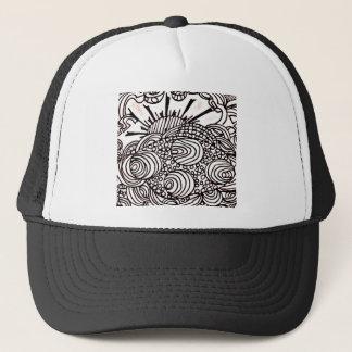 swirlysun trucker hat