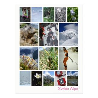 Swiss Alps multi-image 3 Postcard