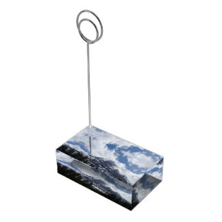 Swiss Alps Place Card Holder