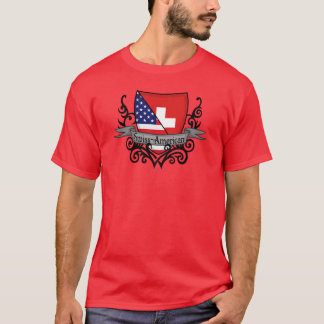 Swiss-American Shield Flag T-Shirt