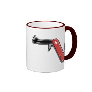 Swiss Army Gun Coffee Mug