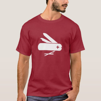 Swiss Army Knife Pictogram T-Shirt