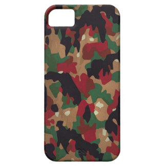 Swiss Army Leiber master camouflage iPhone 5 Cases