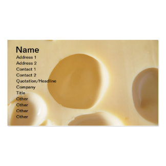 SWISS CHEESE SURFACE TEXTURE CREAM  CIRCLES HOLES PACK OF STANDARD BUSINESS CARDS