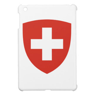 Swiss Coat of Arms Shield iPad Mini Cover