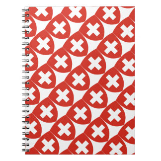 Swiss Coat of Arms Shield Notebooks