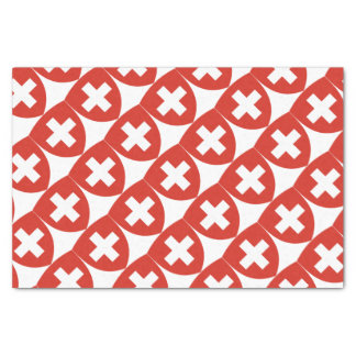 Swiss Coat of Arms Shield Tissue Paper