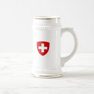 Swiss Coat of Arms - Switzerland Souvenir Beer Stein