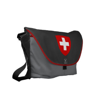 Swiss Coat of Arms - Switzerland Souvenir Messenger Bag