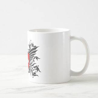 Swiss coats of arms with wing coffee mug