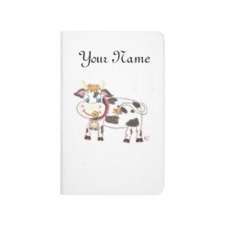 Swiss cow pocket journal
