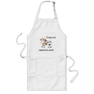Swiss cow vegetarian cook apron