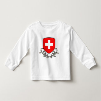 Swiss Crest Kids Lg sleeve Toddler T-Shirt