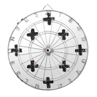 Swiss Cross Pattern Dart Board