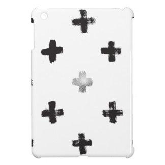 Swiss Cross Pattern iPad Mini Cases