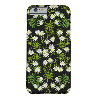 Swiss Edelweiss Alpine Flowers iPhone 6 case Barely There iPhone 6 Case