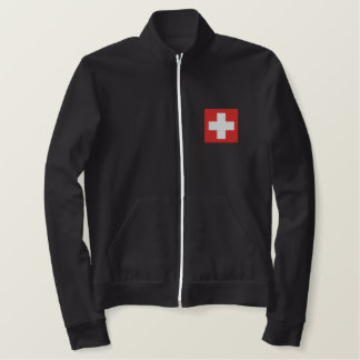 SWISS EMBROIDERED JACKET