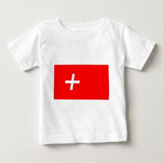 swiss-Flag Baby T-Shirt