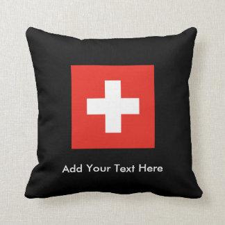 Swiss Flag Cushion