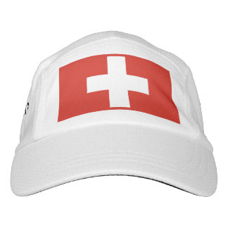 Swiss flag hat