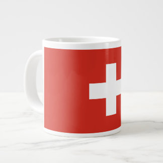 Swiss Flag Large Coffee Mug