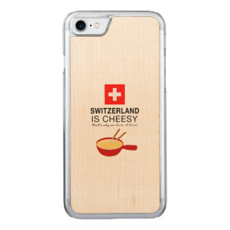 Swiss Fondue Funny Carved iPhone 7 Case