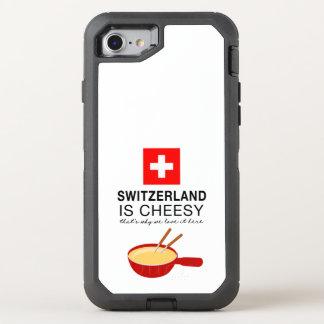 Swiss Fondue Funny OtterBox Defender iPhone 7 Case
