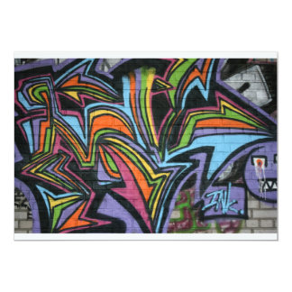 Swiss Graffiti Card