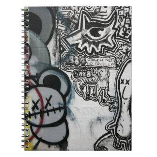 Swiss Graffiti Notebook