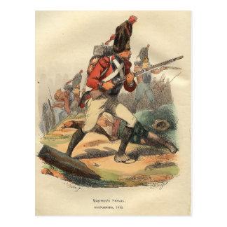 Swiss Grenadier Postcard
