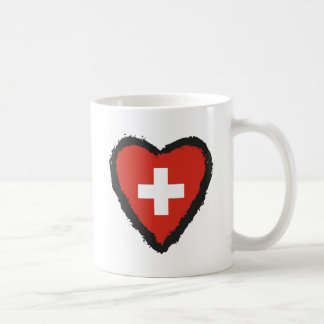 Swiss Heart - I Love Switzerland Mug. Coffee Mug