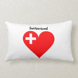 Swiss heart lumbar cushion