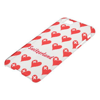 Swiss hearts iPhone 8/7 case