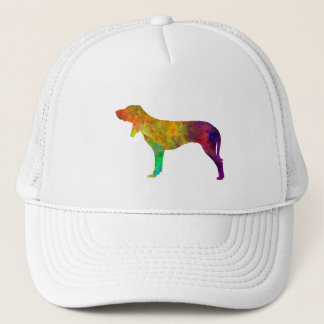 Swiss Hound in watercolor Trucker Hat