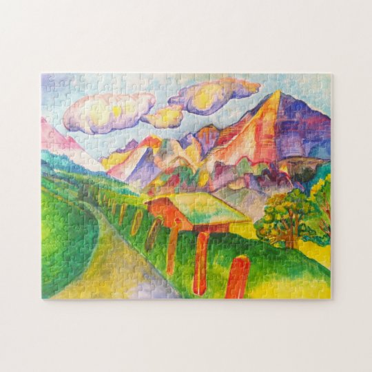 Swiss Landscape Jigsaw Puzzle