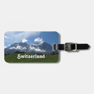 Swiss Landscape Luggage Tag