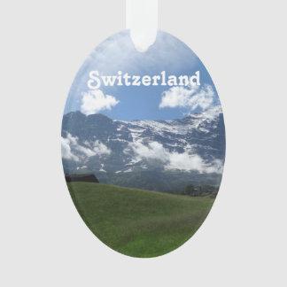 Swiss Landscape Ornament