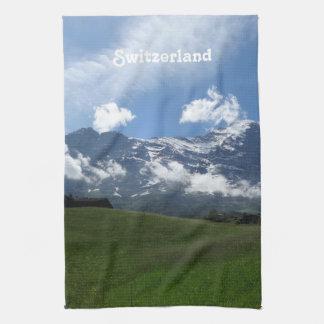 Swiss Landscape Tea Towel