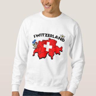 Swiss Map Sweatshirt