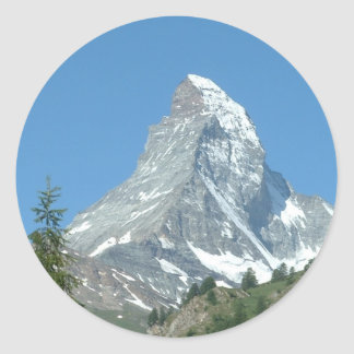 Swiss Matterhorn Sticker