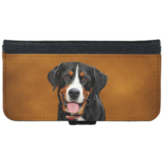 Swiss Mountain Dog iPhone 6 Wallet Case
