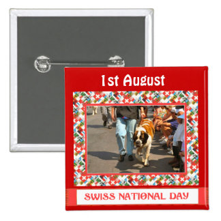Swiss National Day, 1st August, Pin
