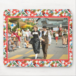 Swiss National Day, 1st August, Interlaken parade Mouse Pad